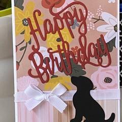 Birthday Card - dog