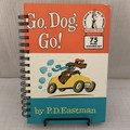 Go, Dog, Go! - Up-Cycled Notebook