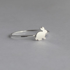 Bunny Ring inSterling Silver