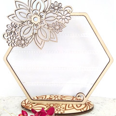 Stunning Floral Earring Stand