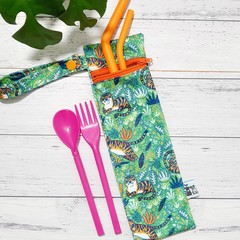 Straw/Cutlery Wet Bag