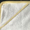 New Born Hooded Bath Towel Yellow Stripe