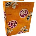 Handmade Journal, lays flat using Secret Belgian Stitch