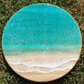 Resin Art Lazy Susan