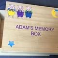 Personalised Children's Paulowina Wood Memory Box Keepsake Box