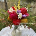 Crochet Flowers Bouquet Handmade Flowers Forever Flowers Mother's Day / Large