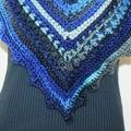 Triangular cowl - bandana scarf -wrap - neck warmer