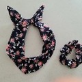 Wired Headband & Scrunchie Set