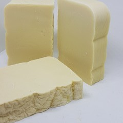 Handmade Soap Bar - Nothingness (Fragrance and Colour Free)