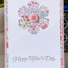 Mother's day Handmade Card - FREE POST