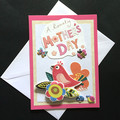 'A Lovely Mother's Day' Card with Colourful Bird