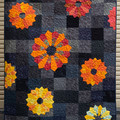 Sunflower Surprise - Single bed quilt