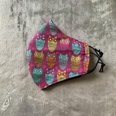 Cotton Face Mask - OWLS
