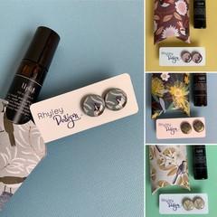 Natural Perfume & Earring Gift Set