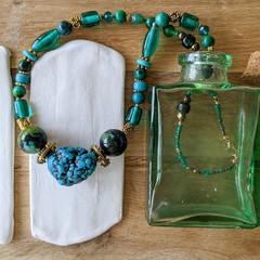 Gypsy Queen Necklace - 85% Repurposed Materials