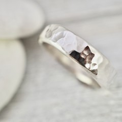 Heavy sterling silver ring | Silver wedding ring | Heavy sterling sterling ring