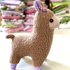 Llama softie, READY TO POST, baby girl toy, llama soft toy, stuffed animal