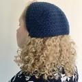 Crochet vintage / retro style PDF pattern bandana scarf hat headband kerchief