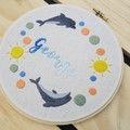 Personalised DIY Kit 'The Dolphin Family'