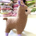Llama softie, READY TO POST, baby girl toy, llama soft toy, stuffed animal