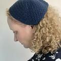 Crochet vintage / retro style bandana scarf hat headband kerchief PDF pattern