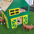 READY TO POST next business day - wooden toy barn