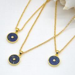 Celestial Necklace Lapis Lazuli