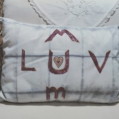 Luv U Mum Cushion Mothers Day Sale
