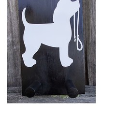 Dog Leash and Collar Hanger 12cm x 20cm