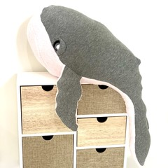Whale, READY TO POST, stuffed toy, sea animal, ocean animal, baby girl toy
