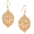 Amelia Oval 14k gold Filled Earrings