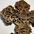 Ornate Cross  Layered art