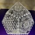 Trapezohedron sacred geometry light