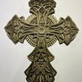 Ornate Cross  Layered art