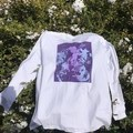 Unisex Purple Long Sleeve T-Shirt
