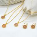 Celestial Necklace Sunstone