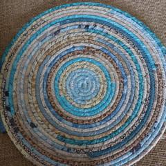 Large heat pads- Sky Blue and Caramel