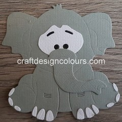 1 x Elephant (kit) Die Cuts