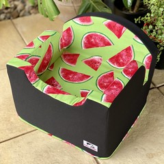 Tail Rider Dog Booster Seat - Small  'Watermelon Dreams'