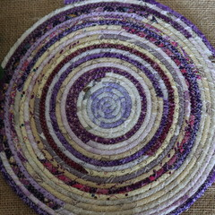 Large heat pads- Purple and Cream
