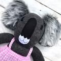 'Candy' the Sock Koala - bright & bold - *READY TO POST*
