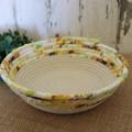 Rope Bowl- 1/2 Sunflowers