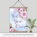 Yes you can quote DIY Printable