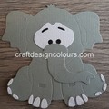 1 x Elephant (kit) Die Cuts
