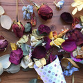 Dried flowers confetti - Eco friendly, biodegradable - Petals - Mixed colours