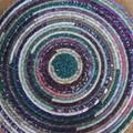 Extra Large Rope Heat pads- Smoky Purple