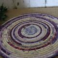 Large heat pads- Purple and Cream