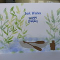 BIRTHDAY CARD - MALE  (FREE POSTAGE)