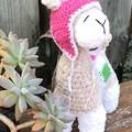 Crochet Amigurumi Plush Llama soft toy