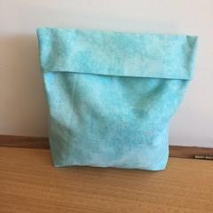 Microwaveable popcorn bag